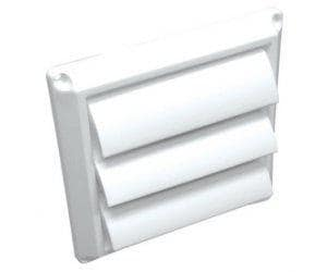 Lambro Industries 8 in. Plastic Wall Cap L363