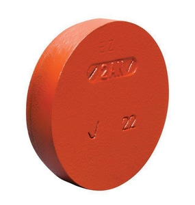 Victaulic Ductile Iron Grooved Sprinkler Cap VF0006P00