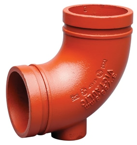 Victaulic FireLock® Painted 90 Degree Drain Elbow VF0010PDR