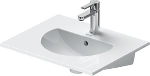 Duravit USA Darling New 1-Hole Wall Mount Vanity Basin D04995300