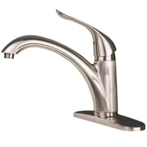PROFLO 1.5 gpm 1 or 3-Hole Kitchen Faucet with Single Lever Handle (Less Spray) PFXC1501