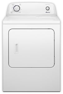 Amana 6.5 CF Electric Dryer in White ANED4600YQ