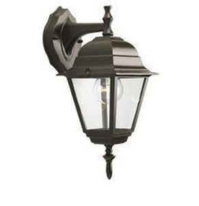 Homestyle Lighting 100 W 1-Light Small Wall Lantern in Bronze HHS71006125