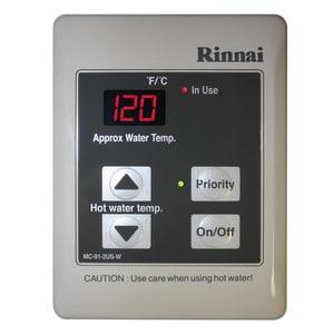 Rinnai 98 - 140 Degree F Standard Remote Temperature Control RMC912W