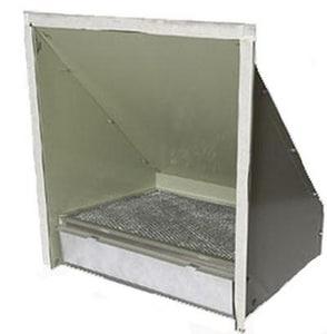 Micrometl Galvanized Steel 25% O/A Hood W/Ftr-rk MSPP09LBCOA