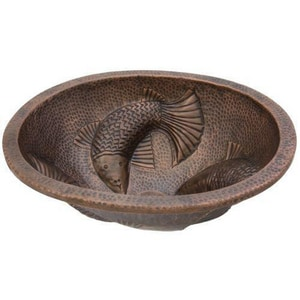 Thompson Traders Moon Wrasse Oval Lavatory Sink T231221