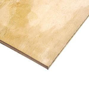 Trio Forest 8 x 4 ft. x 3/4 in. CDX Plywood T4X8X34CDX