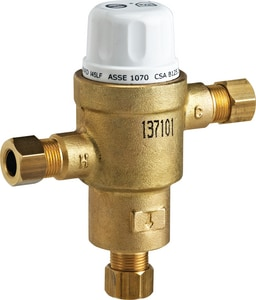 Delta Faucet Teck® Commercial 3/8 in. Electronic Thermostatic Mixing Valve DR3070MIXLF