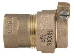 Ford Meter Box FIP Brass Reducing Coupling FQ1133Q3123NL