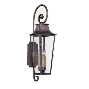 Troy-CSL Lighting French Quarter 60 W 4-Light Can Lantern in Aged Pewter TB2963