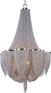 Maxim Lighting International Chantilly 60 W 10-Light Chandelier M21465NKPN
