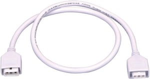 Maxim Lighting International CounterMax® 24 in. Under-Cabinet Connecting Cord in White M89953WT