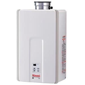 Rinnai 7.5 GPM Indoor Low NOx  Tankels Natural Gas Water Heater RV75I