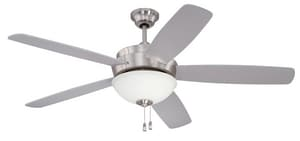 Craftmade International 52 in. 120 W 5-Blade Ceiling Fan CLY52SS5