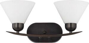 Quoizel Demitri 100W 2-Light Bath Light QDI8502