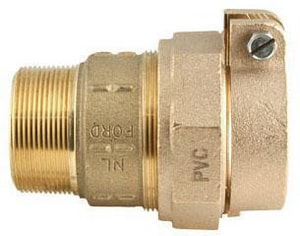 Ford Meter Box MIP Swivel x PVC Pack Joint Brass Straight Coupling FC875NL