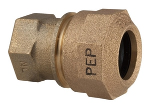 Ford Meter Box FIP x PEP Brass Straight Coupling FC16QNL