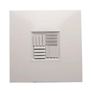 PROSELECT® 12 x 12 in. Aluminum T Bar Model Diffuser Square Back PSAMCTBSBW1212