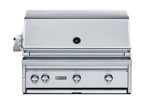 Lynx 36 in. 75000 BTU 3-Burner Built-In Sear Grill in Stainless Steel LL36PSR2