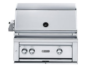Lynx 30 in. 50000 BTU 3-Burner Built-In Sear Grill in Stainless Steel LL30PSR2