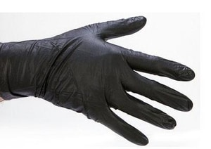 Component Manufacturing L Size Mamba Glove in Black CDBLK120
