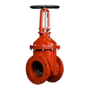Flanged Open Left Outside Screw and Yoke Resilient Wedge Gate Valve MR23656OL