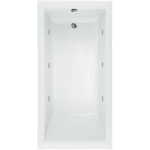 Hydro Systems Lacey™ 60 x 36 in. Rectangle Whirlpool Bathtub with Left Hand Drain HLAC6636AWP