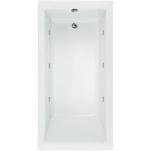 Hydro Systems Lacey™ 60 x 36 in. Rectangle Whirlpool Bathtub with Thermal Air System and Left Hand Drain HLAC6636ATA
