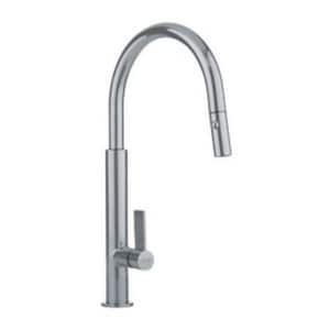 Franke Consumer Products 2.2 gpm Single Lever Handle Gooseneck Pull-Out Faucet FFF27