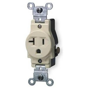 Leviton 20A 125V Single Receptacle L5801I