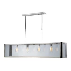 Elk Lighting Parameters 60W 4-Light Medium Pendant in Polished Chrome E312134