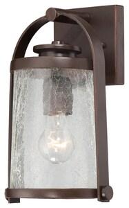 Minka Travessa 100 W 1-Light Medium Lantern in Architectural Bronze M72331291