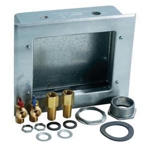 IPS Corporation Guy Gray™ Metal Washing Machine Supply and Drain Box I82036