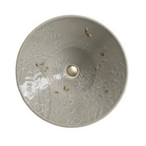 Kohler Gilded Meadow™ Conical Bell Vessel Lavatory Sink K45922-DE