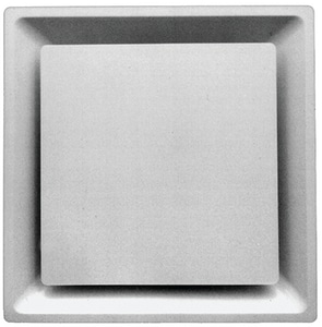 Proselect Square Panel T-Bar Diffuser in White PSSPD14