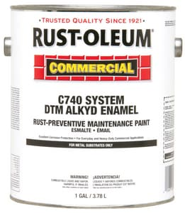 Rust-oleum 1 gal. Alkyd Enamel Paint in Safety Red R255551
