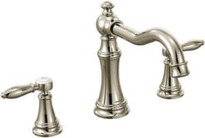 Moen Weymouth® 3-Hole Roman Tub Faucet Trim MTS22103