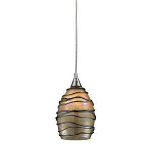 Elk Lighting Vines 60 W 1-Light Medium Pendant E311421