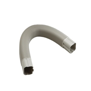 Slimduct® 3-3/4 x 3-3/4 in. Service Faucet Flex Elbow REC86128
