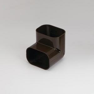 Slimduct® Vertical 90 Degree Elbow in Brown REC85462
