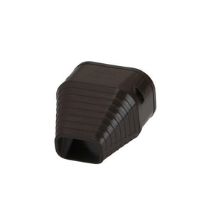 Slimduct® End Fitting in Brown REC85467