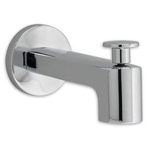 American Standard Moments™ Wall Mount Slide-Out Diverter Tub Spout in Polished Chrome A8888091002