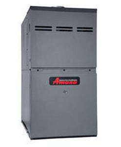 Amana HVAC AMVC8 Series 21 in. 80000 BTU 80% AFUE 5 Ton Two-Stage Upflow and Horizontal 3/4 hp Natural Gas Furnace AAMVC80805CN
