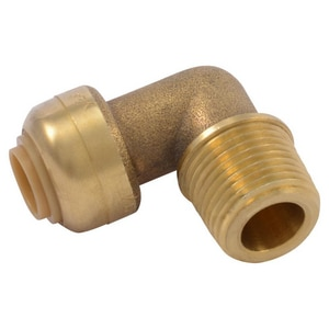 Sharkbite Brass Push 90 Degree Elbow SU27