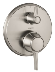 Hansgrohe Metris™ Pressure Balance Diverter Trim with Double Lever Handle H04449