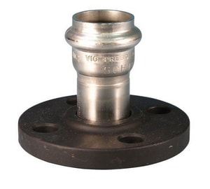 Victaulic Flanged Schedule 10 304L Stainless Steel Adapter VF565XH4-NR