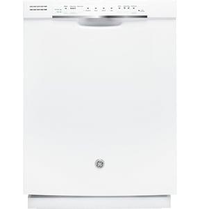 General Electric Appliances 23-3/4 in. 52dB 4-Cycle Hybrid Built-In Dishwasher GGDF540HGD
