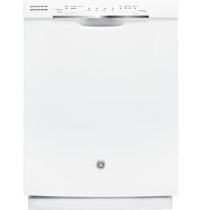 General Electric Appliances 24 in. Electric Tall Tube Built-In Dishwasher with Front Control GGDF520PGD