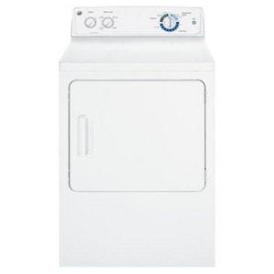 General Electric Appliances DuraDrum™ 6.8 CF Duradrum Electric Dryer in White GGTDP180EDWW
