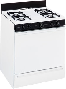 General Electric Appliances Hotpoint® 30 x 26-1/2 in. Natural Gas Free Standing Range GRGB518PCD